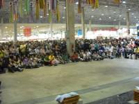 Público do palco cultural