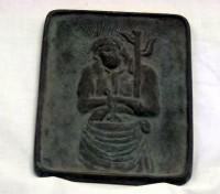 Fumiê - Imagem usada na perseguição aos cristãos. Quem hesitasse em pisar na imagem era preso.